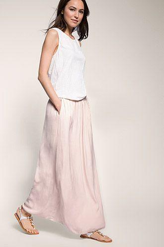 8745f3063b7f EDC / Maxirock mit Taschen | Kleider | Maxiröcke, Outfit ideen und Rock