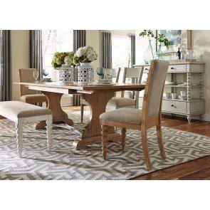 Missouri Round Dining Table Antique White Rustic Oak Round Dining Room Sets Dark Dining Room Dining Room Design