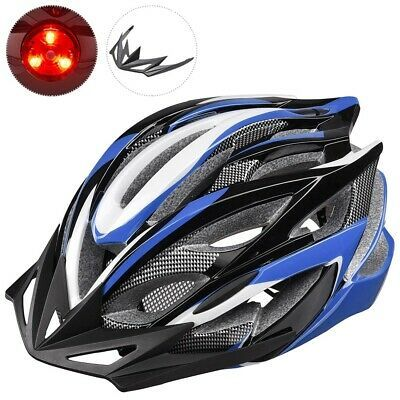 Ad Ebay In Mold Cycling Helmet Cpsc With Led Light 25 Vents Visor