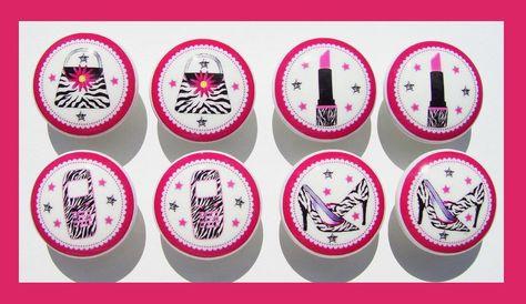 8+GIRLY+Pink+Zebra++phone+purse+shoes++Dresser+by+PATRINASPLACE,+$23.00
