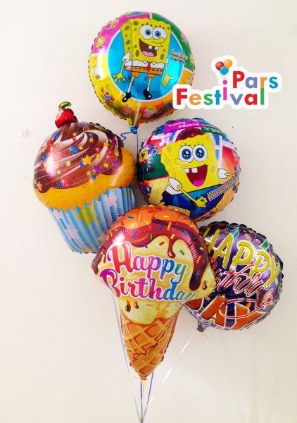 Sponge Bob Happy Birthday Foil Balloon Spiderman Birthday Party Happy Birthday Foil Balloons Spiderman Birthday