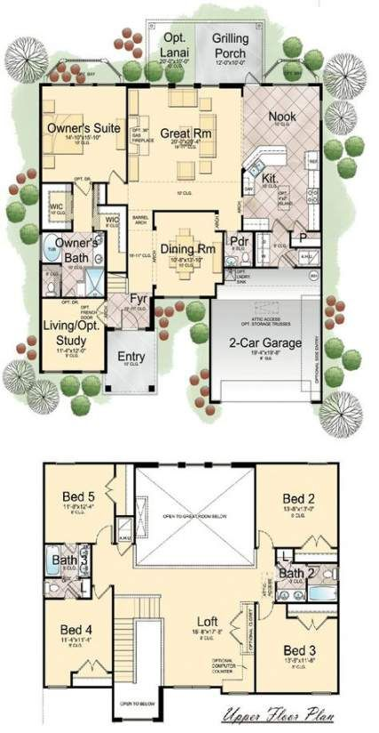 New Apartment House Plans 2 Story 15 Ideas House Apartment Home Design Floor Plans Floor Plans 2 Story House Plans 2 Story