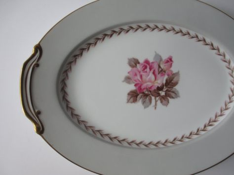 Vintage Noritake Rosemont Floral Serving Platter  by thechinagirl