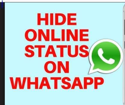 Hide Whatsapp Online Status How To Hide Online Status