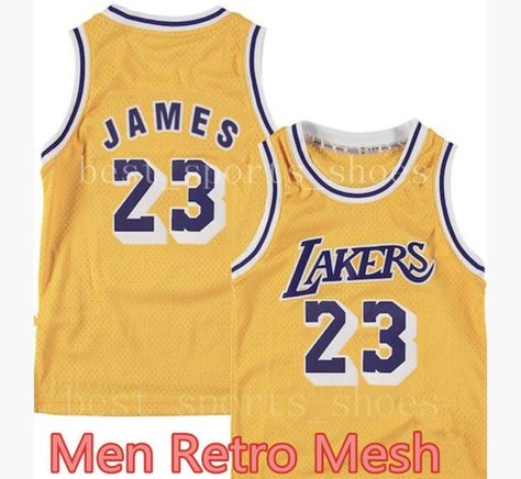 Lebron James Los Angeles Lakers Mesh Jersey  sports  basketball  trending 06c47fdd3