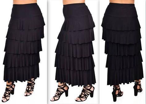 de027b97b0e New Waterfall Skirt