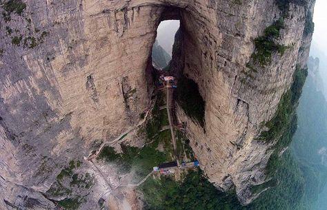 Zanimljivi putevi, staze, ceste B077b51394ee3a07ed6cee690bc3730d--in-china-heavens-gate-china