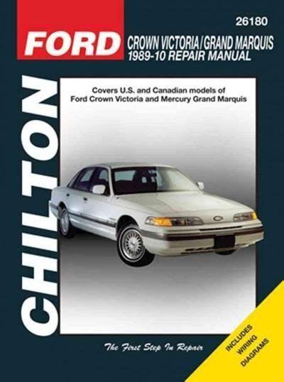 Pdf Chilton Ford Crown Victoria 1989 10 Repair Manual Livre Telecharger Gratuit Pdf Chilton Ford Cro In 2020 Chilton Grand Marquis Chilton Repair Manual
