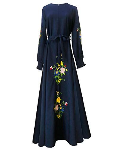Robe Musulmane Fille Turque POPLY Moderne Grande Taille Pas Cher Robe Ete Femme Longue Dubai Kaftan Abaya Femme Musulmane Noir Robe Islamique Mariage Musulman Robe De Soiree Caftan Femme Oriental