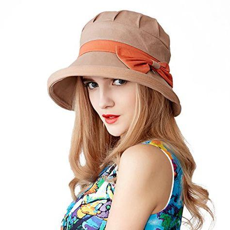 d713d5e74bc958 Afala Women Packable Beach Summer Hats Bucket Hats, Lightweight for Travel  and Beach Vacation