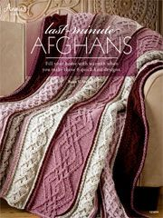 Last-Minute Afghans Knit Pattern Book