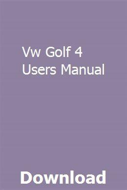 Golf 4 dash board manual pdf pdf free download.
