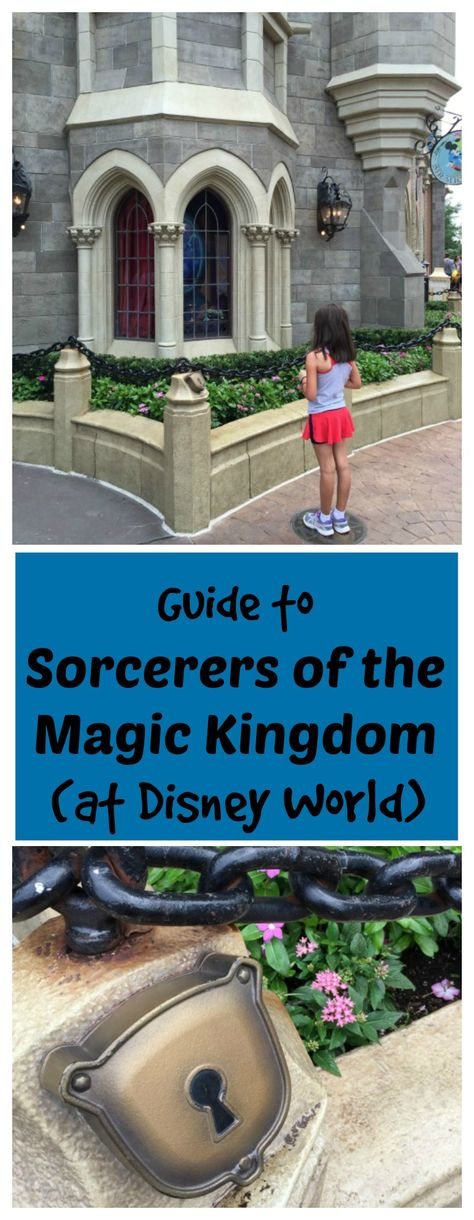 Whether you've never been to Disney World or are a seasoned veteran, you'll want to check out my Guide to Sorcerers of the Magic Kingdom - interactive event