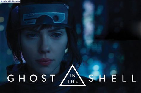 Ghost in the Shell Poster Scarlett Johansson Movie New FREE P+P CHOOSE YOUR SIZE