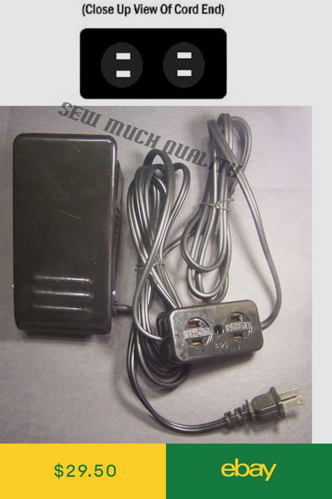 FOOT CONTROL PEDAL W// Cord Janome HewHome 7318 Magnolia 744D 7933 Harmony HD1000