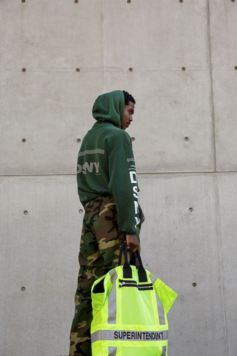 Heron Preston for DSNY Lookbook