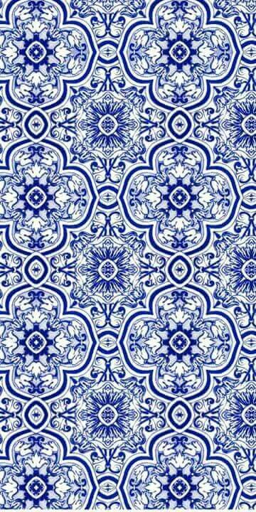 Blue and white pattern background
