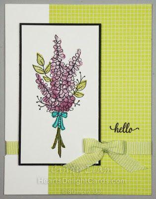 Lots Of Lavender Sab Sneak Peek Cards Floral Cards Hand Stamped Cards