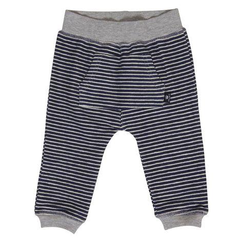 511687aa Marineblå sweat bukser med hvide striber fra Hust & Claire | Kids ...