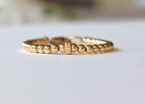 Gold Child Braceled Baby Bracelet Gold Heart Bracelet