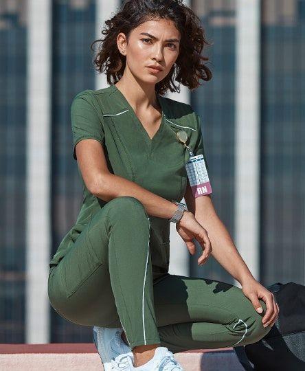 slimming scrubs de îngrijire medicală)