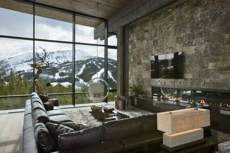 421 best Wohnzimmer Design images on Pinterest Four poster bed - steinwand beige wohnzimmer