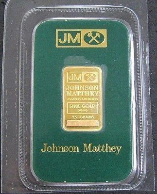 Johnson Matthey 2 5 Gram Gold Bar In Assay Card Sealed Rare Goldrateusa Gold Rate Gold Money Gold Bar