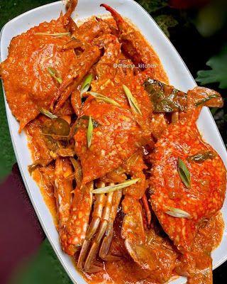 Kepiting Saus Padang Resep Kepiting Resep Masakan Pedas Resep