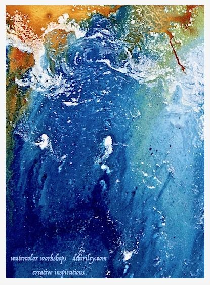 From The Sea To Watercolors And Beyond Art Pages Art Abstract
