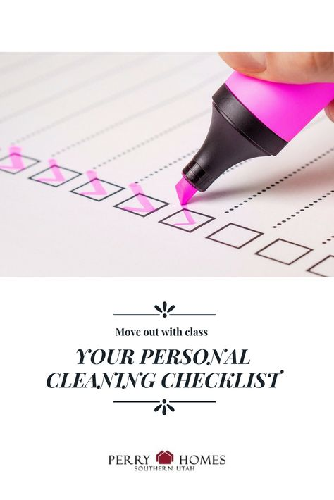 New Year, New Home Top 10 Home Improvement Ideas for 2018   Cleaning checklist, Perry homes ...