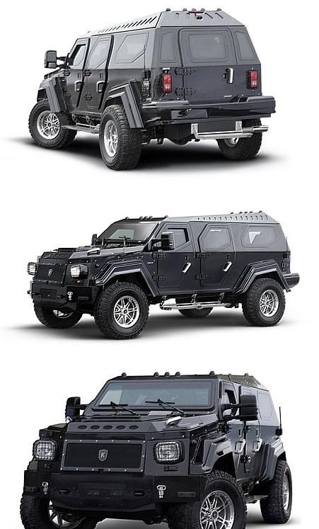 If I became a billionaire, this would be my car... after I add a small gun safe. I'd rule the world! ;)