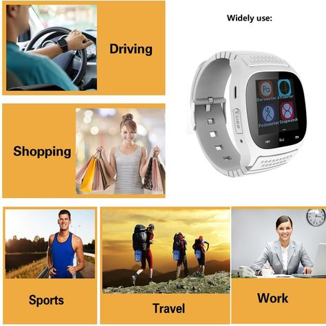 Bluetooth Smart Watch Unlocked Watch Phone with Dial Camera