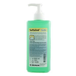 Softalind Hand Sanitiser 500ml Each Hand Sanitizer Surgical