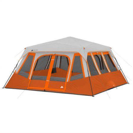 ozark trail 14 person tent orange