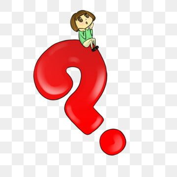 Question Mark Red Cute Character Doubts Free Question Mark Doubt Thinking Png Transparent Clipart Image And Psd File For Free Download Cute Characters This Or That Questions Question Mark