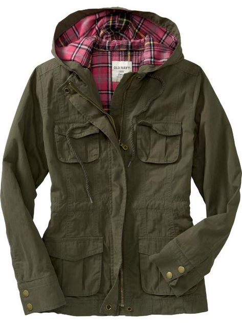 cb4493d39074 Women's Flannel-Lined Utility Jackets Product Image