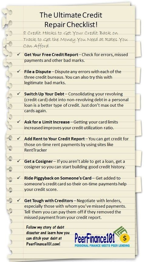 8-Point Credit Score Checklist to Boost Your FICO Fast