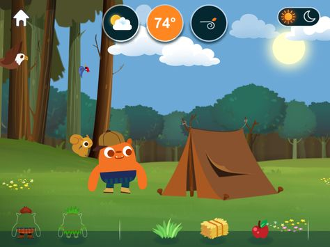 MarcoPolo Weather: Educational virtual weather app for kids
