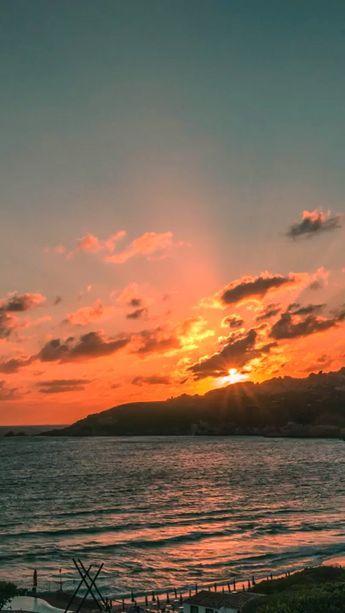 Every sunset is an opportunity to reset. #beautifulsunset #sardinia #nature #naturephotography #naturelovers #sunset #river #clouds
