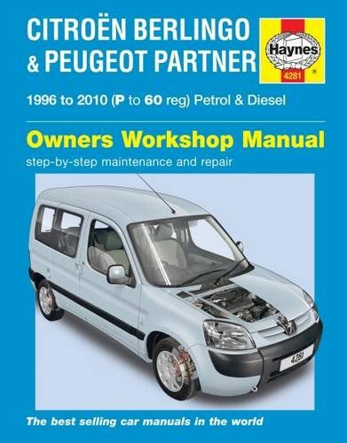 Citroen Berlingo Andamp Peugeot Partner By Haynes Publishing Haynes Publishing Group Isbn 10 0857339508 Isbn 13 0857339 Citroen Berlingo Peugeot Citroen