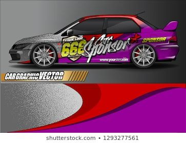 race car livery Graphic vector  abstract background design