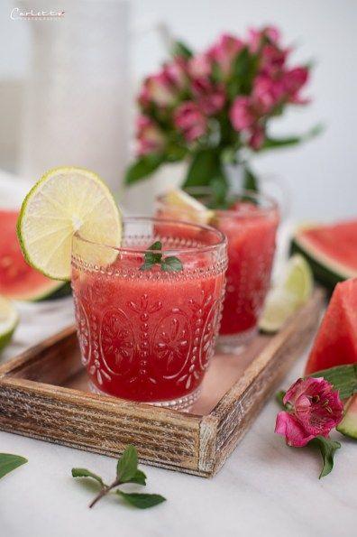 Wassermelonen Smash 6794 Cookingcatrin Wassermelone Cookingcatrin Wassermelone Cocktail