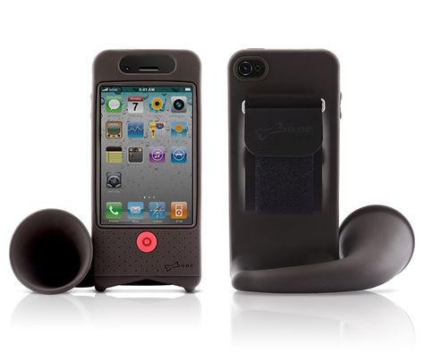 HORN STAND Lautsprecher / Halter für iPhone/ iPod - arshabitandi. Der DesignVersand - Geschenke online kaufen!
