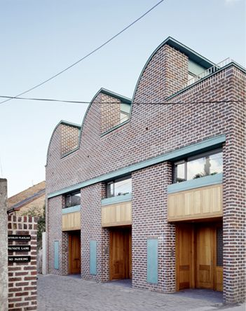 Three Mews houses de Blacam Meagher Dublin, Ranelagh | Irland, Dublin |  Pinterest | House, Architecture and Architects