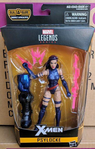 Marvel Legends Hasbro Apocalypse Series X-Force X-Men Purple Hair Psylocke