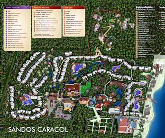 Sandos Caracol Eco Resort Map Sandos Caracol Eco Resort Map Layout | Summer | Resort plan