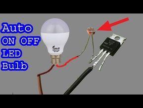 How To Make 230v Auto On Off Led Light Bulb Diy Dark Sensor Youtube Diy Light Bulb Led Light Bulb Bulb
