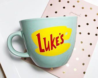 Luke S Luke S Diner Luke Luke Cup Personalized Mug Coffee Mug Luke S Diner Cup Mug Gilmore Mug Fun Mug Gift Gilmore G Mugs Coffee Mugs Luke S Coffee