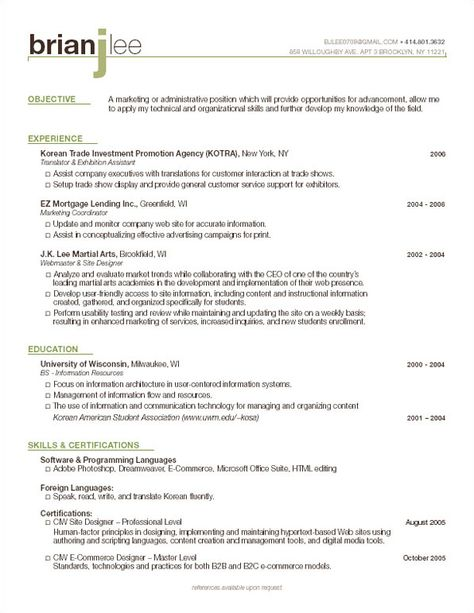 Manhattan Resume Company » Services Resume Headings Pinterest - youth counselor resume