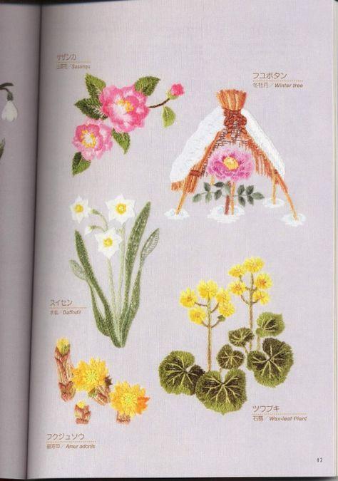 Gallery.ru / Фото #2 - Вышивка гладью 3: Цветы - Vladikana ...